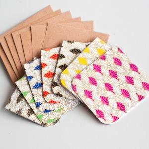 7pcs of Blank Mini Cards (Japanese ..