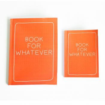 SET OF 2 - Book For Whatever Notebook